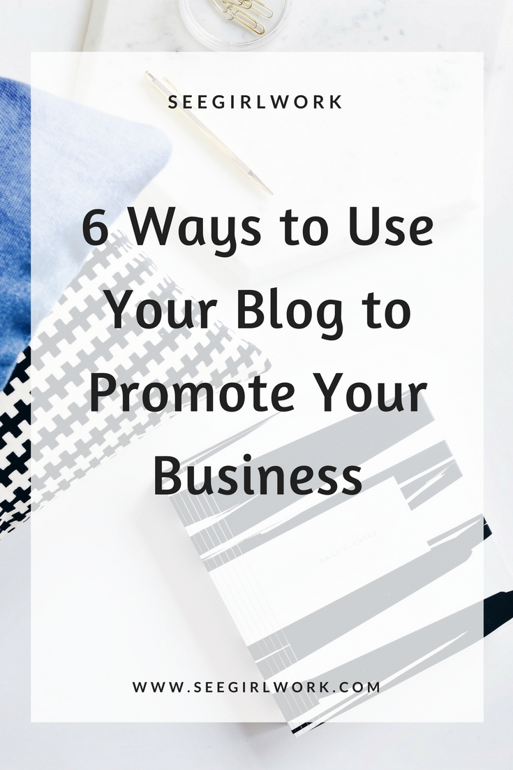blogging to promote business