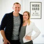 Hyr Co-Founders Joshua Karam and Erika Mozes