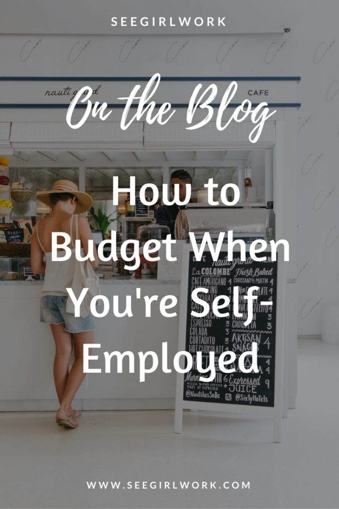 self employed budget
