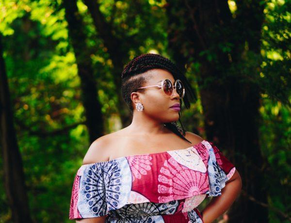 beautiful melanin woman